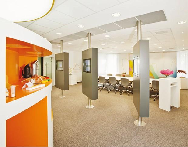 Objekteinrichtung Bayer Bee Care Center, Hubert Scharlau GmbH in Rosendahl Osterwick