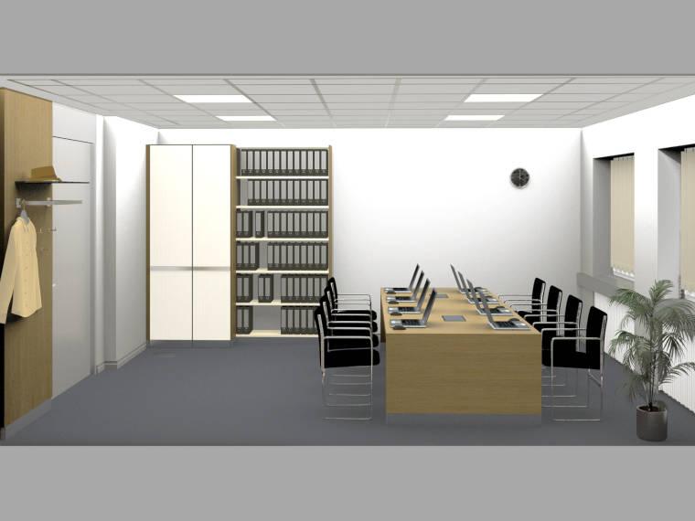 Objekteinrichtung Besprechungsraum, Hubert Scharlau GmbH in Rosendahl Osterwick