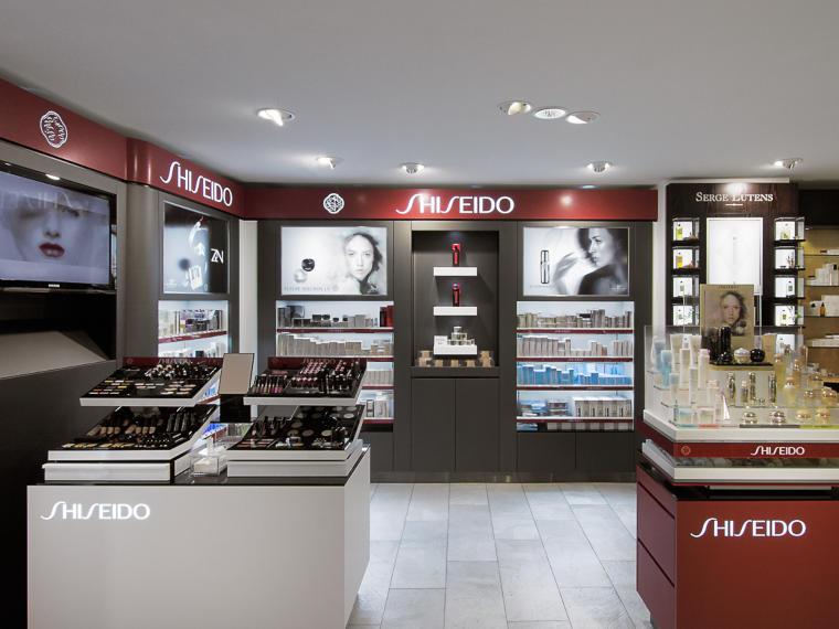 Shop-Konzepte Shiseido, Hubert Scharlau GmbH in Rosendahl Osterwick