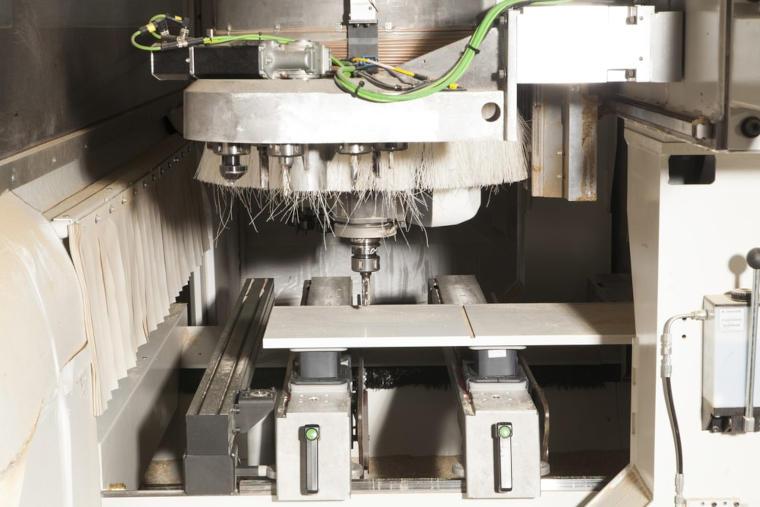 Materialbohrung, Firma Hubert Scharlau GmbH in Rosendahl Osterwick